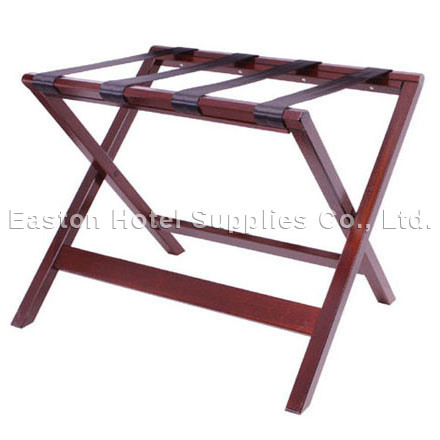 Solid Wooden Mahogany Luggage Rack