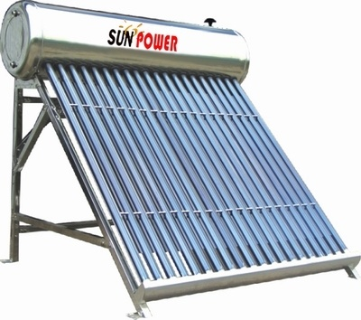 Stainless Steel Low Pressure Solar Water Heater (SP470-58/1800)