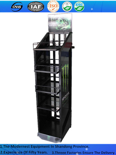High Grade Practical Beer and Beverage Pop up Display Stand