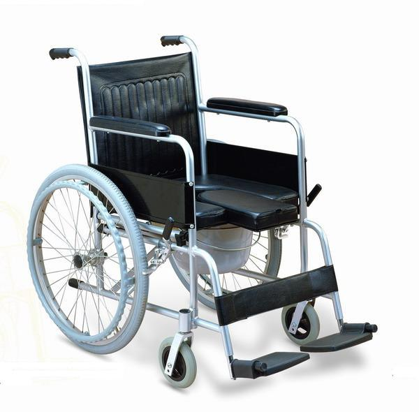 China aluminium commode wheelchair hdcw 3002 china commode