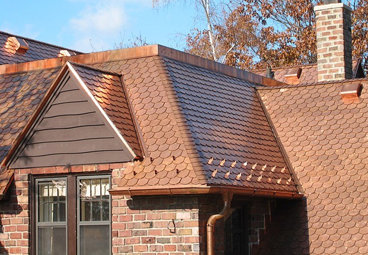 Copper Roofing Tile