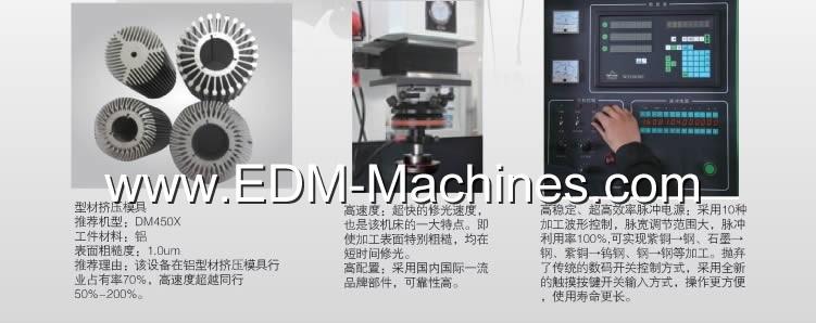 Znc EDM Machine Special Design for Die Mold
