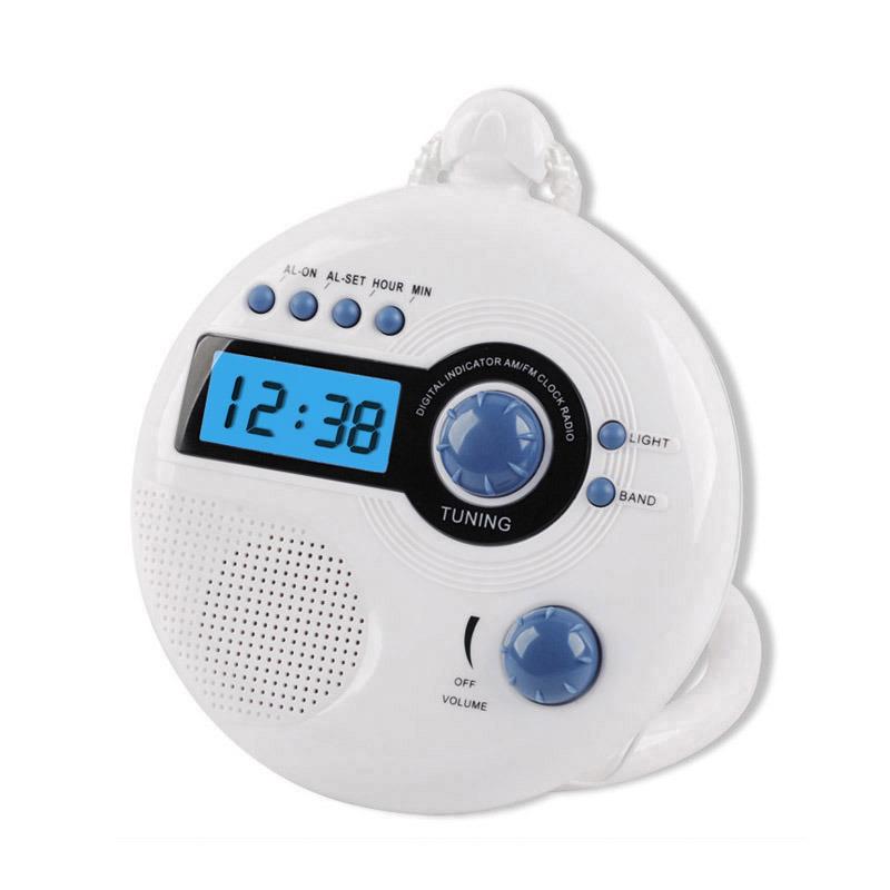 China Shower Clock Radio China Shower Clock Clock Radio