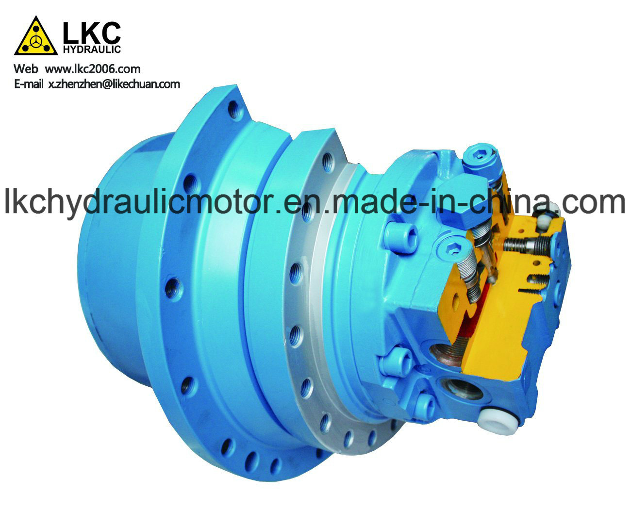 Kyb Final Drive Hydraulic Travel Motor for 1.5t~2.5t Yammar Crawler Excavator
