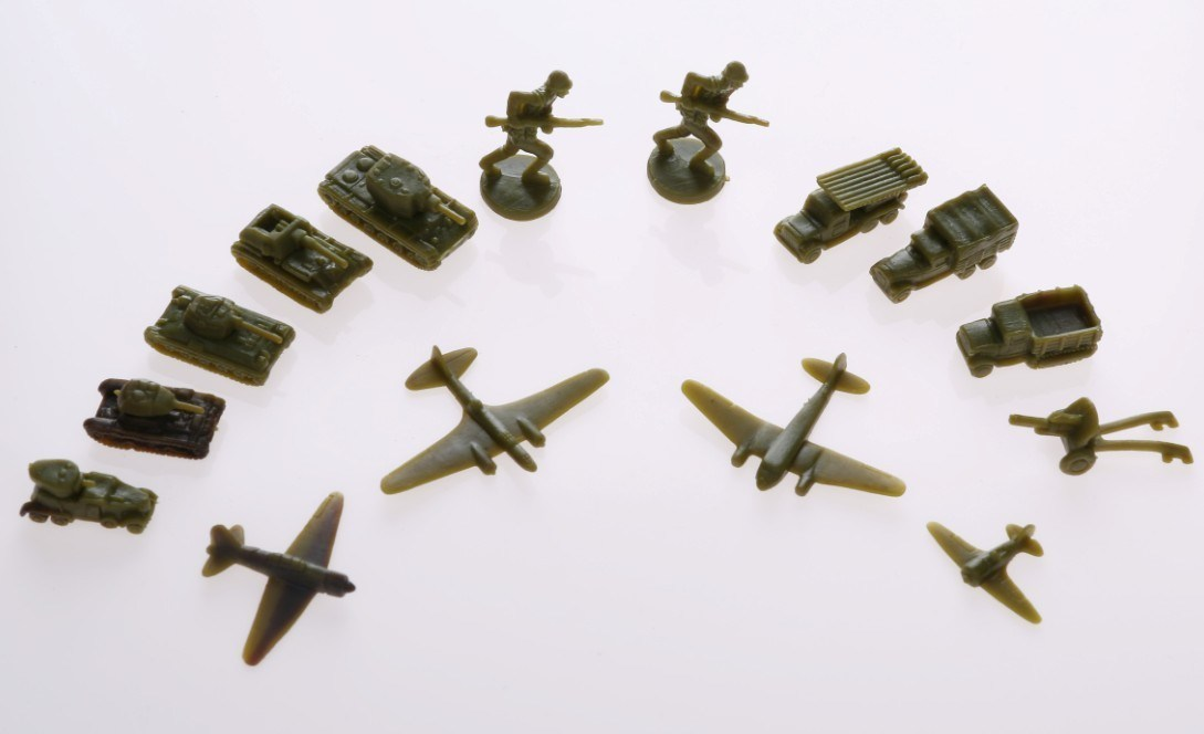 Russia Series Military Miniatures Army Men Action Figures