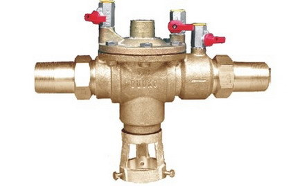 how to clean a backflow preventer