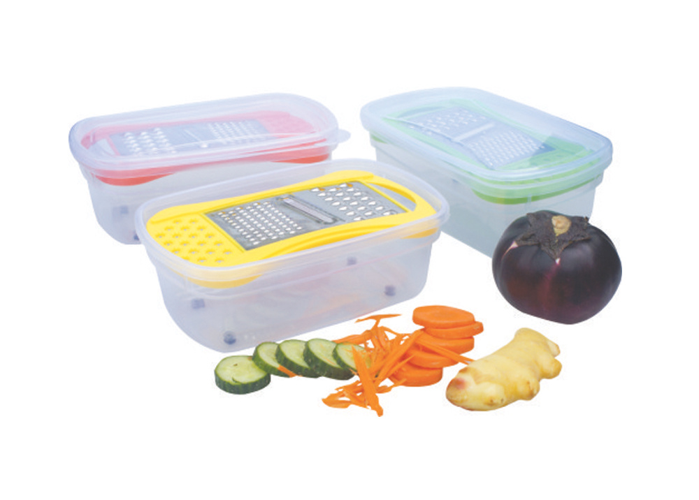 Kitchen Slicer with Container (LE33150)