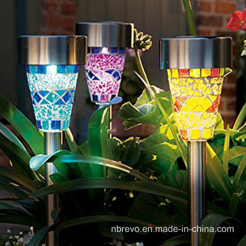 Solar Powered LED Garden Mosaic Decorative Light (RS100)