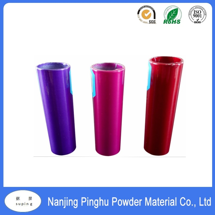 Purple Pink & Red High Gloss Powder Coating for Metal Furniture
