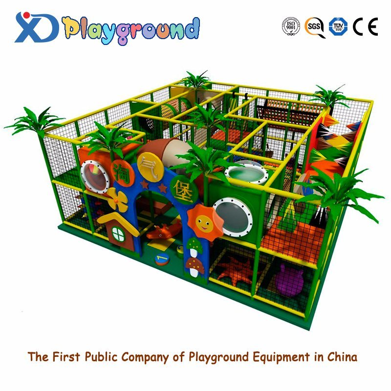 2015 Best Sale Pirate Ship Indoor Commercial Wooden Play House