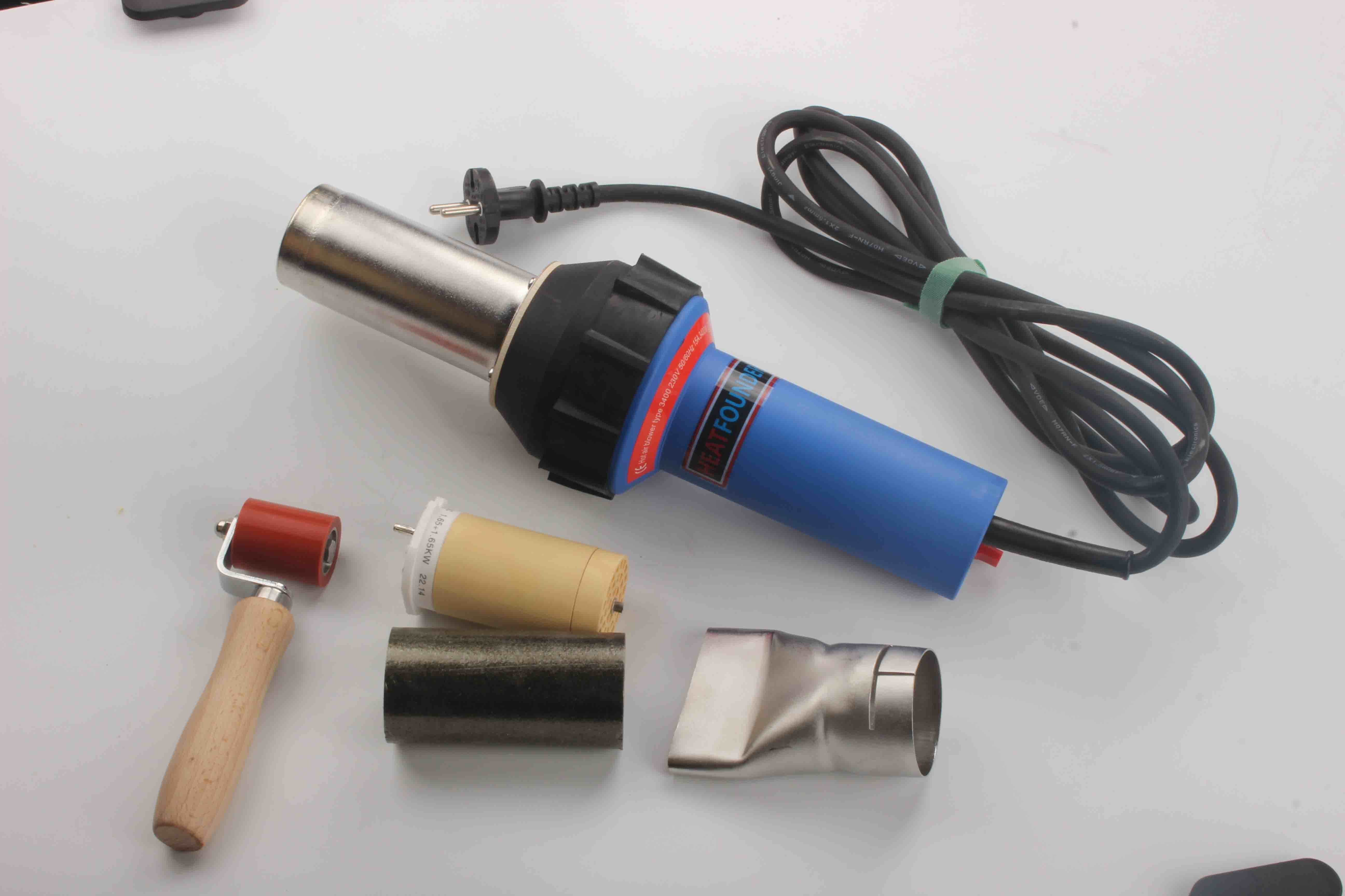 3400A Ce ISO Approve Plastic Hand Extruder
