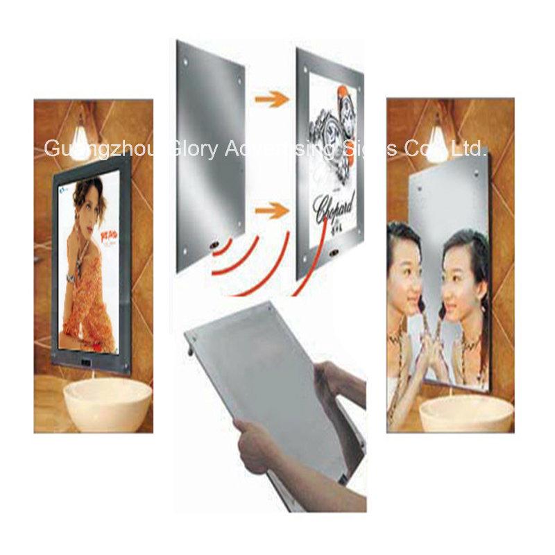 Frameless LED Backlit Magic Mirror Light Box