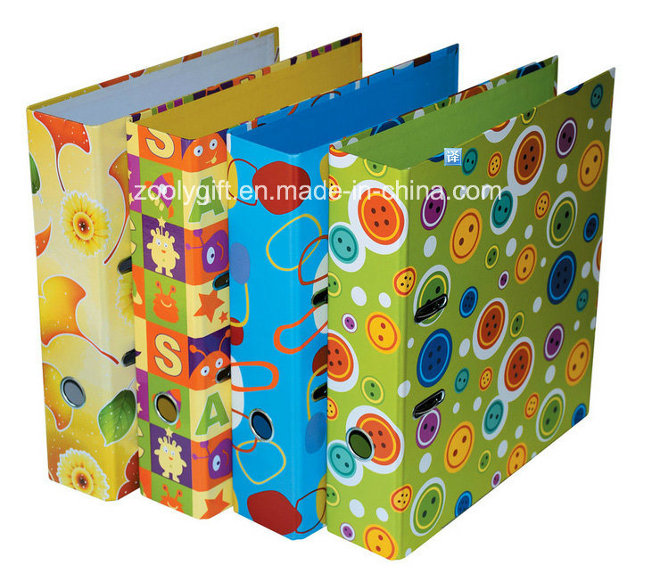 A4 /FC Durable Chipboard Paper Ring Binder File Folder