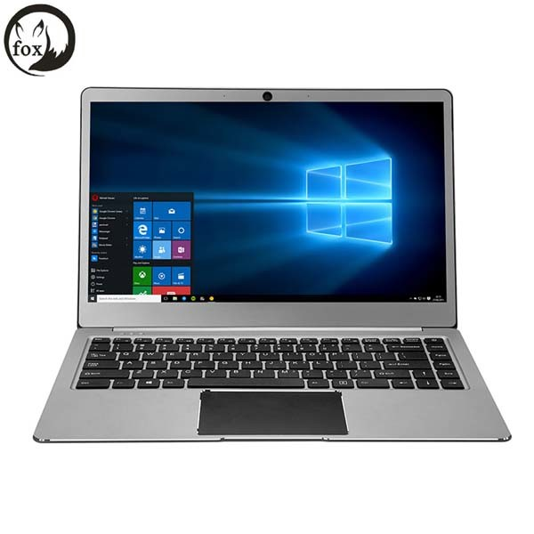 Fox Laptop FHD Quad-Cores Intel Apollo Lake N3450 4GB RAM 64GB ROM Emmc USB3.0 Type-C 14.1 Inch Notebook Laptop Windows10