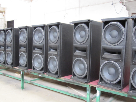 """High Power Double 10"""" Professional Line Array (Smart 10)"""