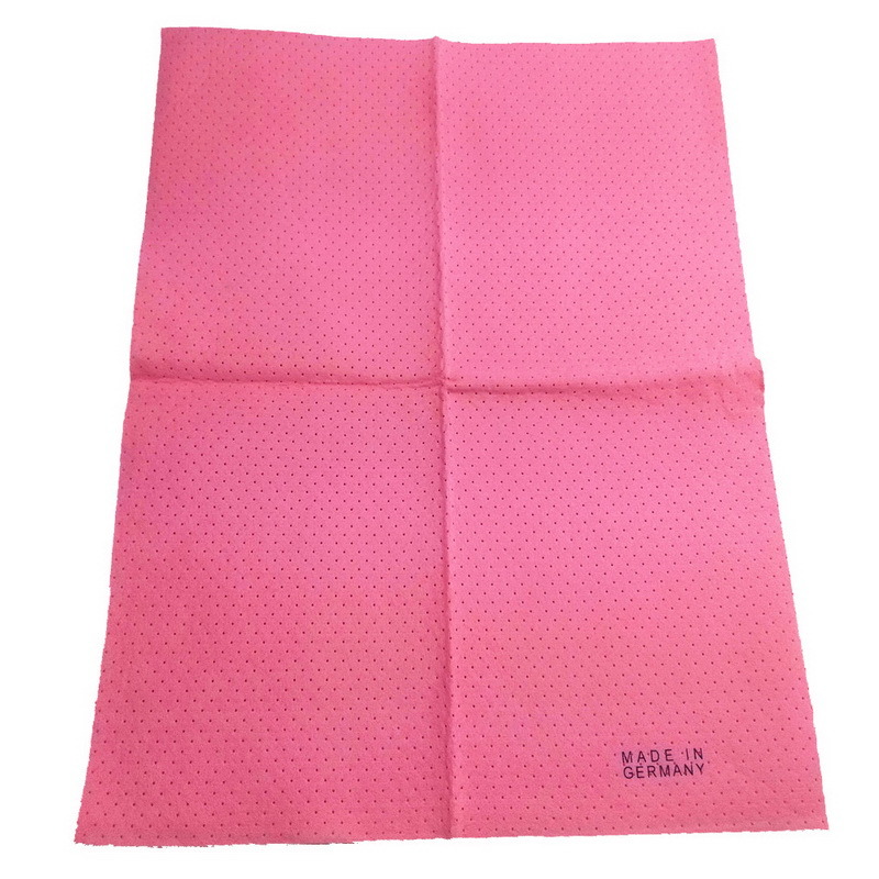 80%Viscose and 20%Polyester Made in Germany Needle Punched Nonwoven Fabric Cleaning Cloth