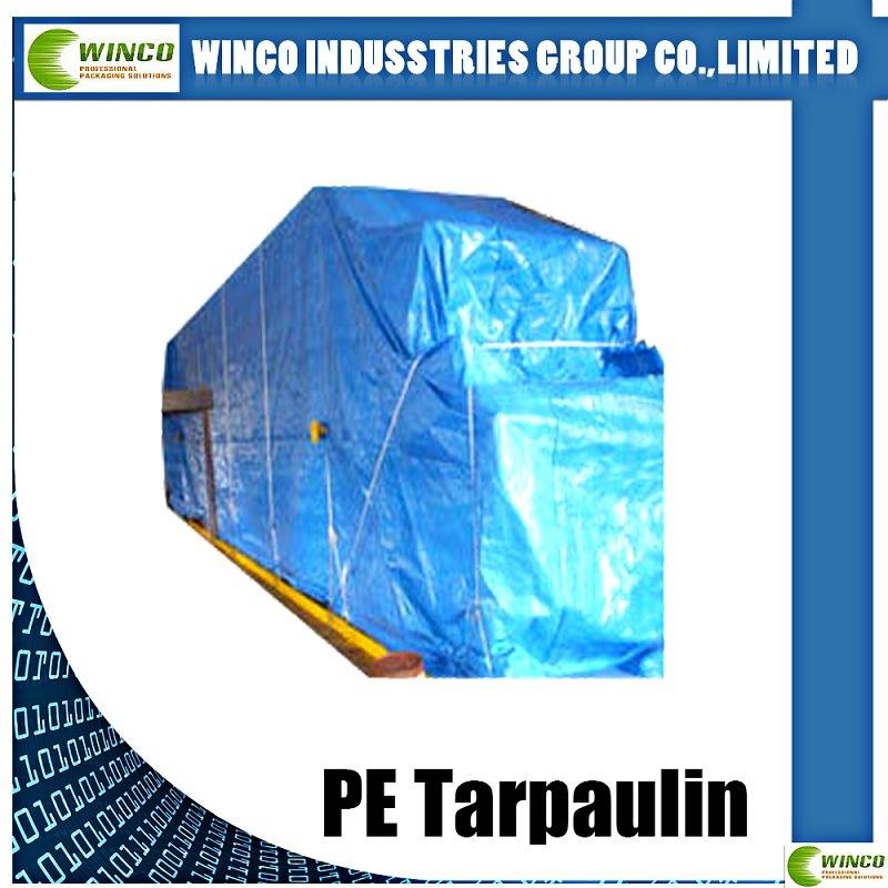 High Density PE Tarpaulin Waterproof and UV Resistant PE Tarpaulin