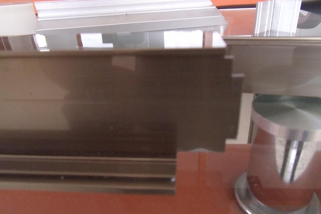 Kt-313f Aluminum Window Door End Milling Machine