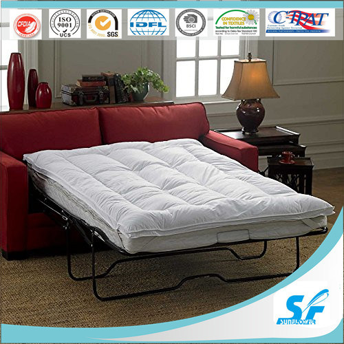 Hotel Home Used Qulted Bed Mattress Topper Cotton Mattress Pad