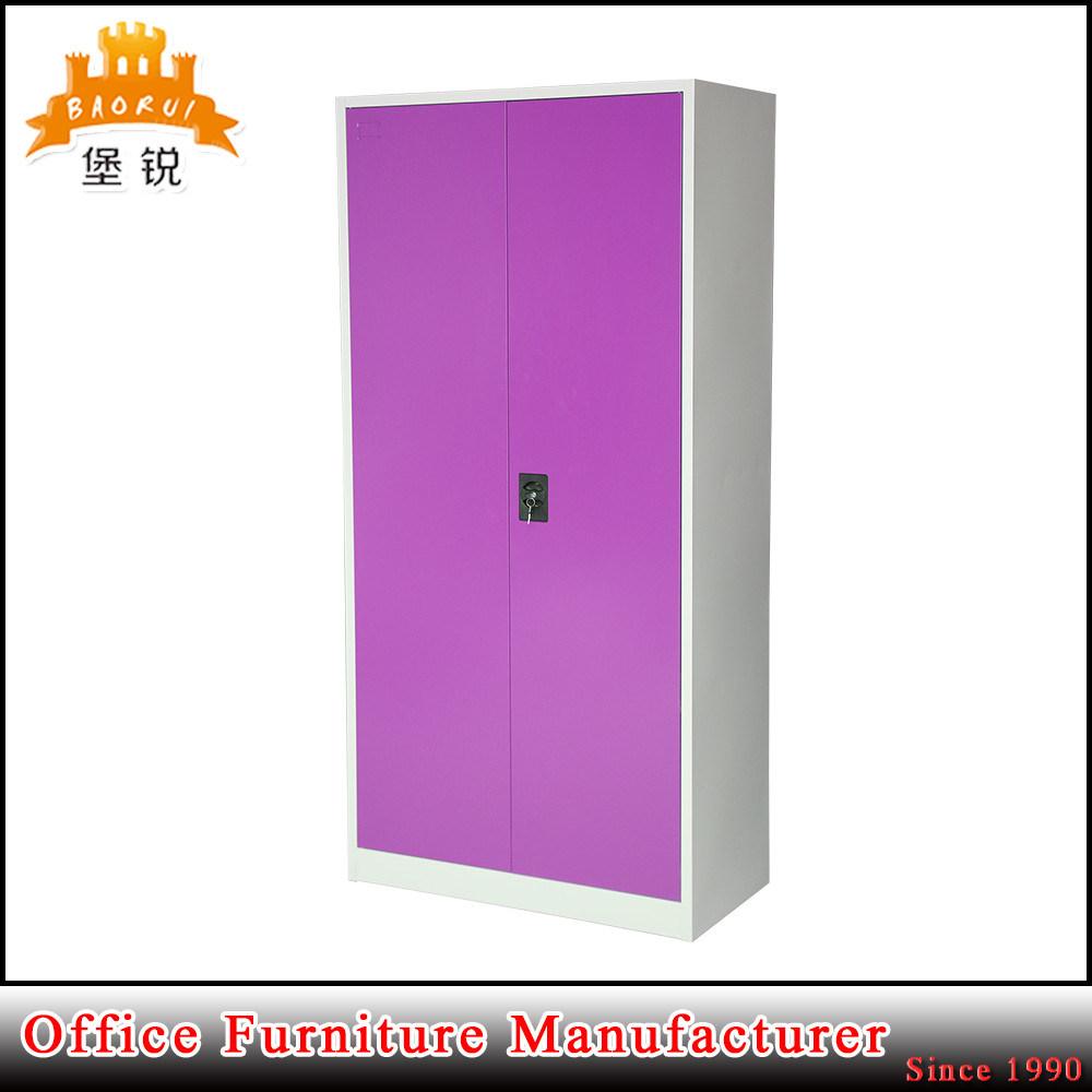 Colorful Home Furniture Wardrobe Metal Office Cabinet Locker Steel Almirah