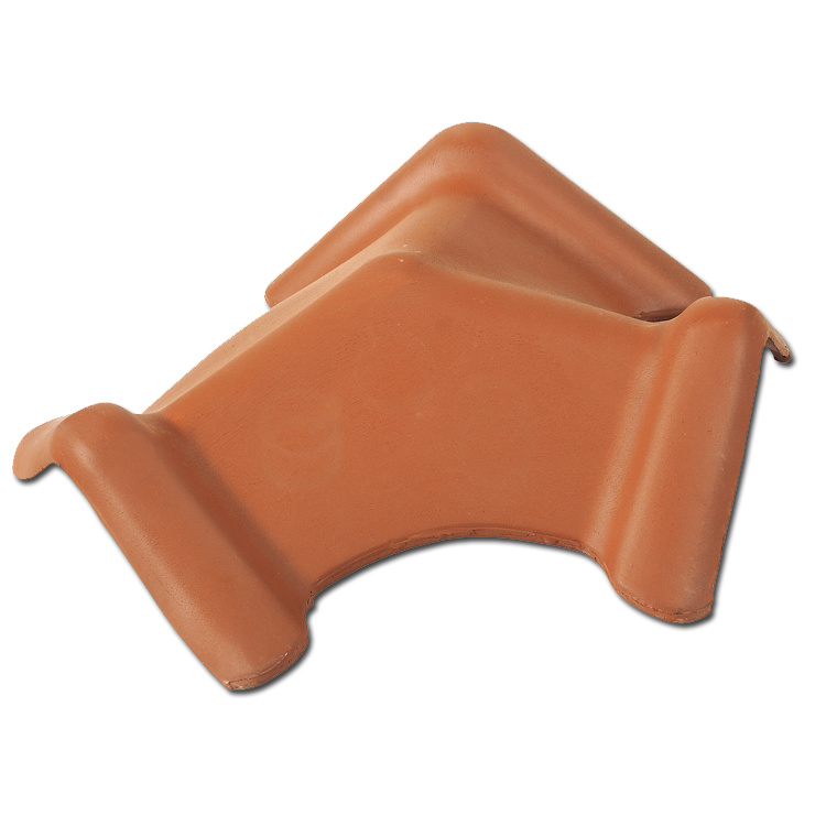 Red Color Plain Roof Tile Interlocking Water Proof Material Roof (F1-W55)