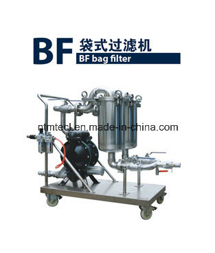 Fast Open Pneumatic Pump Double Bag Filter