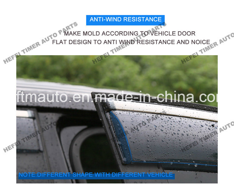PC Material Window Visor for Toyota Fj Cruiser