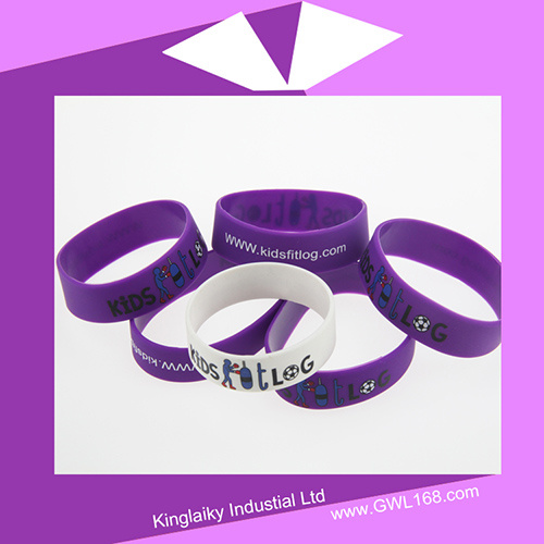 Customized Silicone Bracelet for Promotional Gift