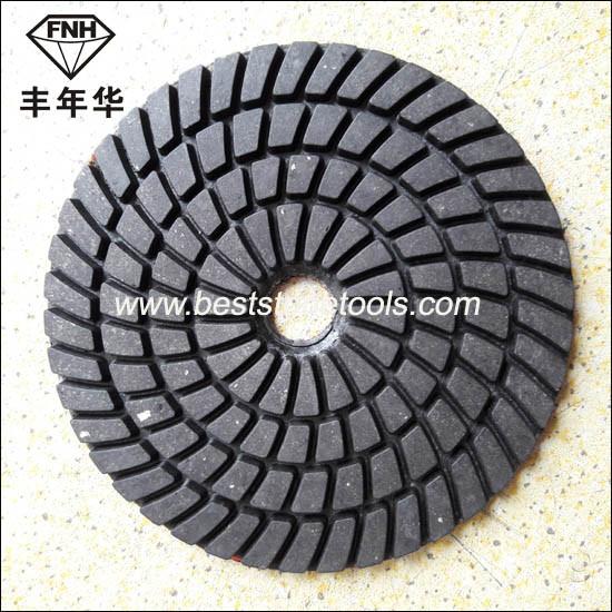 Hand Power Concrete Stone Machine Diamond Grinding Polishing Pad