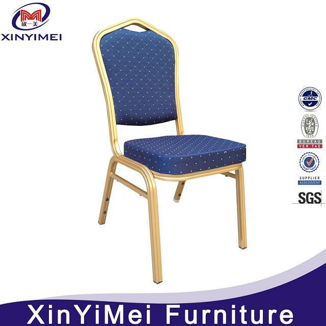 Hotel Furniture Banquet Restaurant Metal Aluminum Dining Chair (XYM-L127)