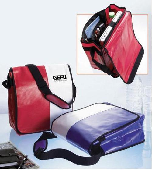 Tarpaulin PVC Laptop Computer Messenger Notebook Bag