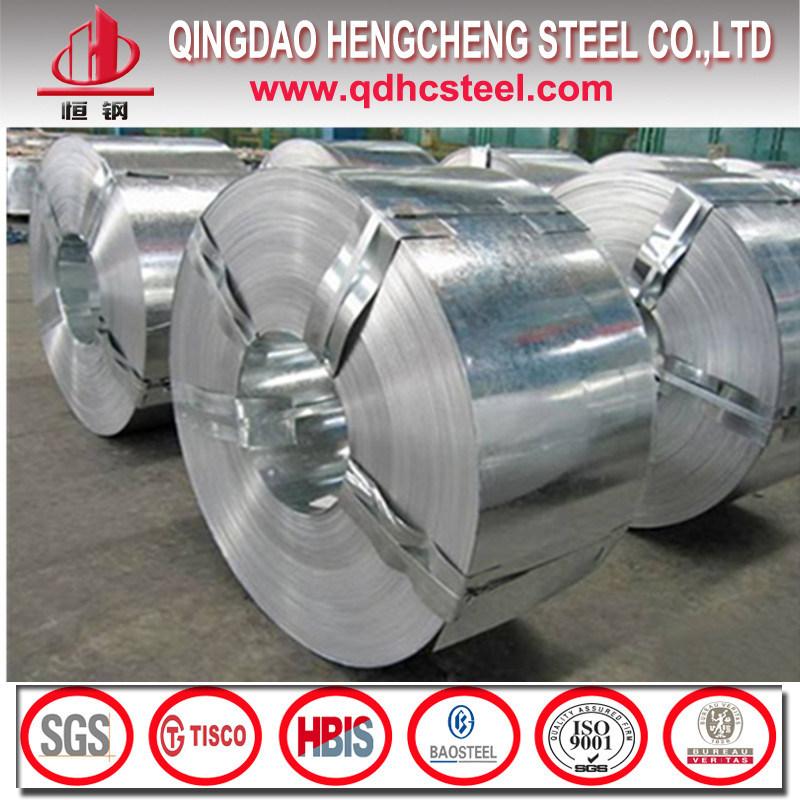 G60 Dx51d Hot Dipped Zinc Coated Steel Strip