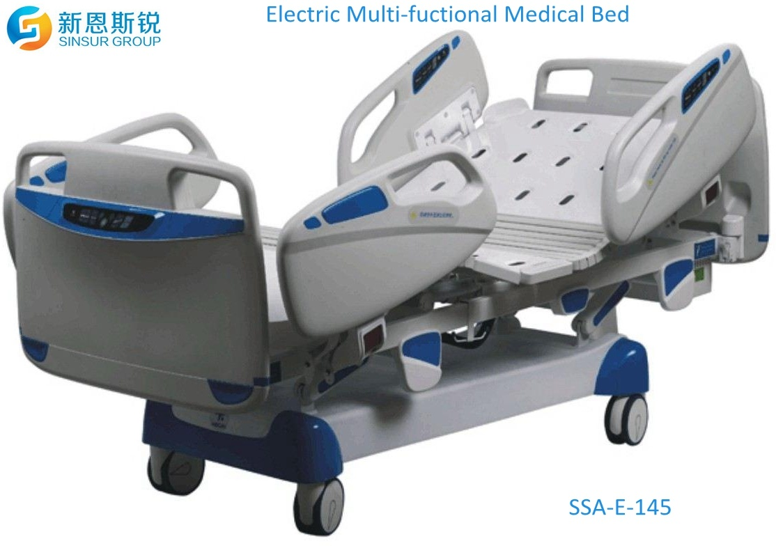 Luxury ICU Multi-Functional Electric Medical Bed