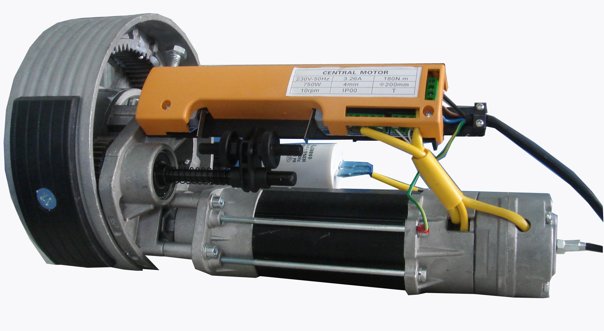 Easy to Install and Conveniet Central Roller Shutter Door Motor