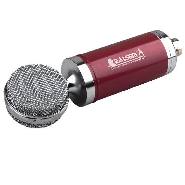 Ealsem Es-4sr-F Plug to Plug Computer Microphone Hot Sell High Quanlity Studio Microphone
