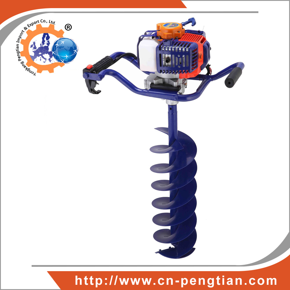52cc 1.7kw Earth Auger with 100mm 150mm 200mm Auger Bits