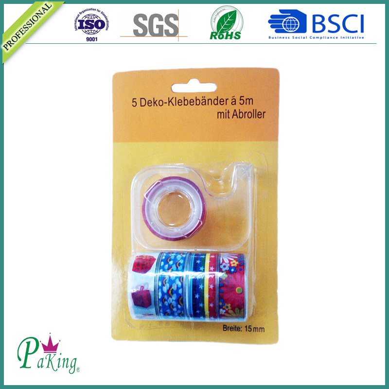 BOPP School Stationery Tape with Dispenser
