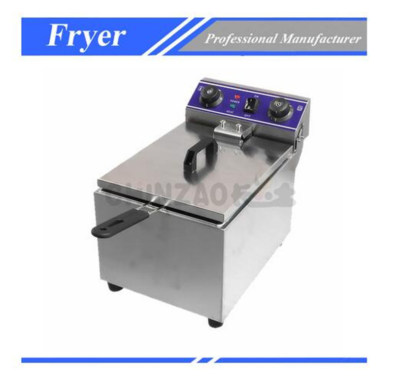 Double Tank Electric Deep Fry Machine Food Machinery Dzl-131b