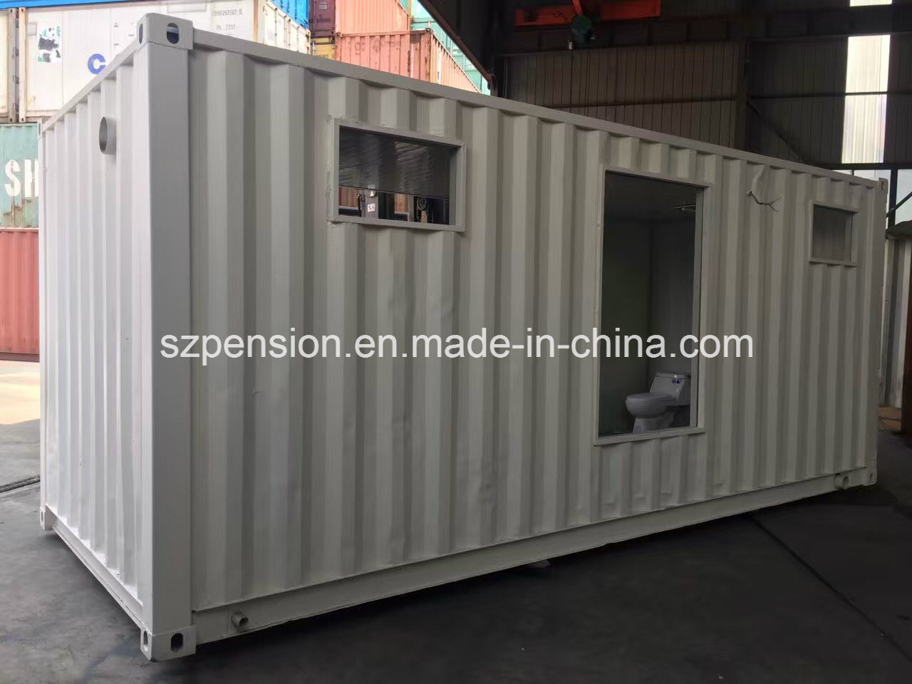 Well Designed Modern Modified Container Prefabricated/Prefab Sunshine Room/House