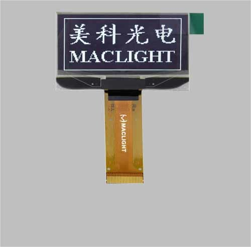 1.54 Inch Pm OLED Display Module 128X64 Pixels