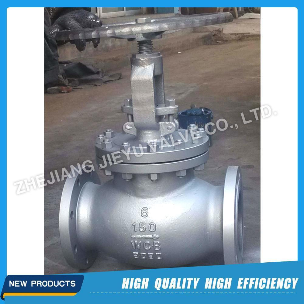Casting Steel Wcb/Lcb/Lcc/CF8 Industrial Control Globe Valve