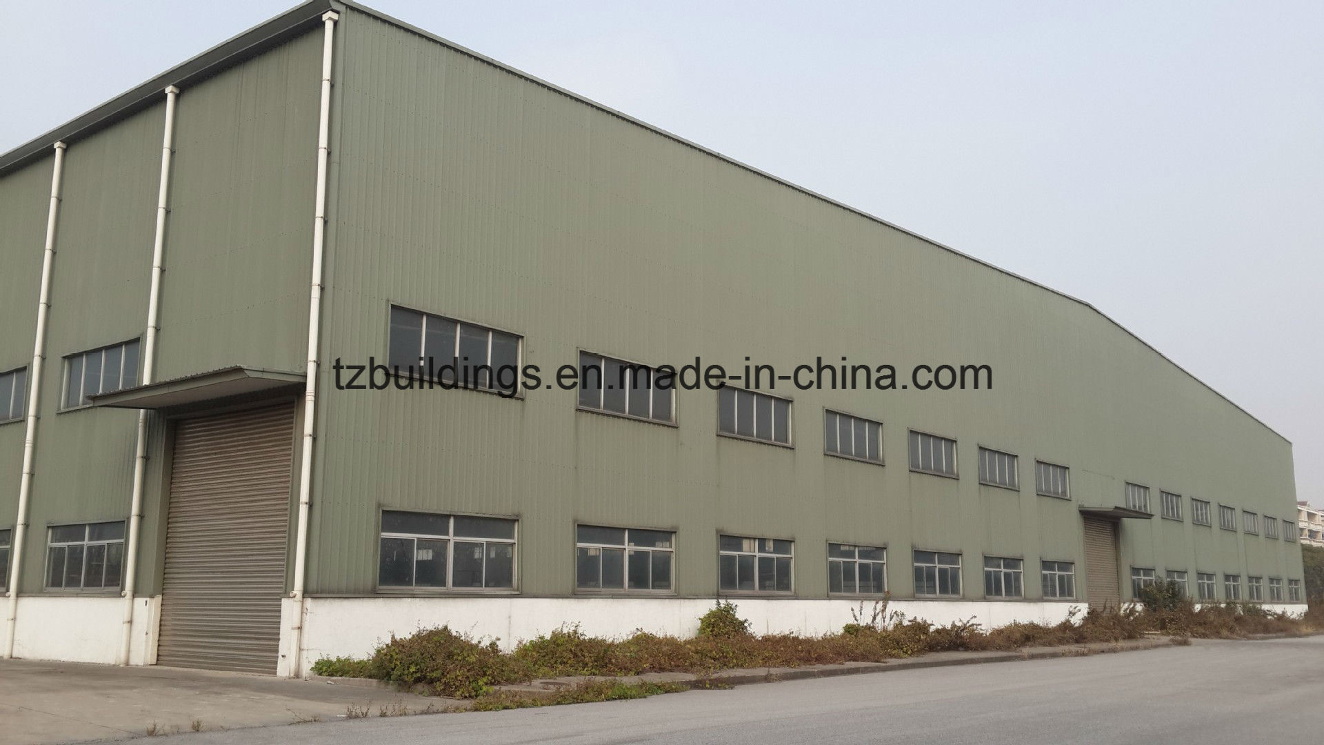 Two Storey Steel Structure Warehouse Design