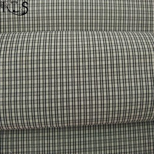 Cotton Poplin Yarn Dyed Fabric Rlsc40-11