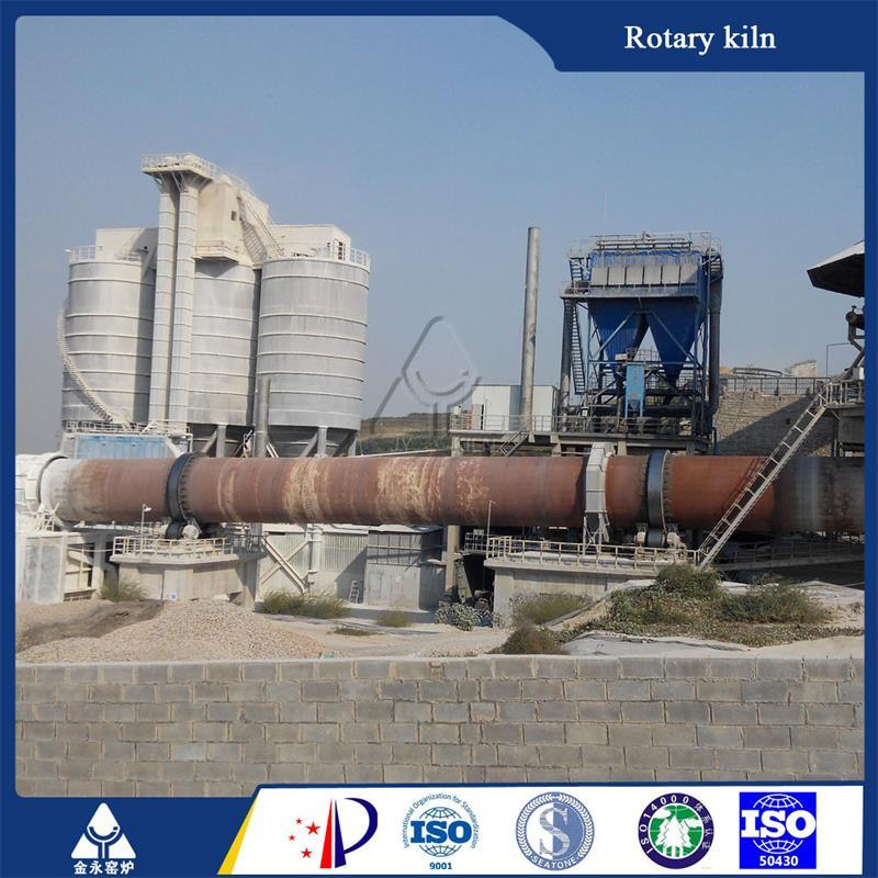 China Designed Top Advanced Lime Rotary Kiln for High Quality Active Lime Production Line