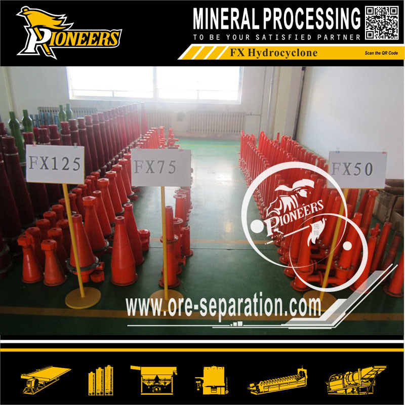 Mining Cyclone Classifier Ore Industrial Equipment Separator Dewatering Hydrocyclone
