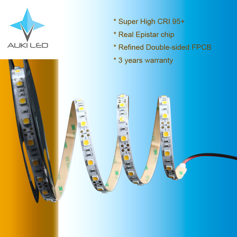 3 Years Warranty 14.4W Super High CRI 95+ SMD5050 LED Flexible Strip