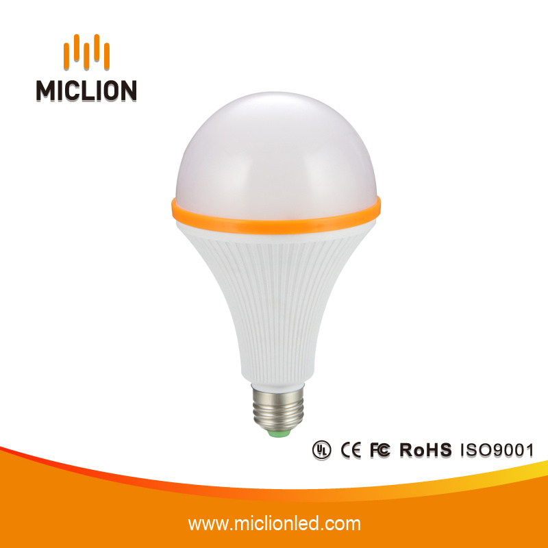 15W E27 Plastic Case LED Emergency Bulb with Ce