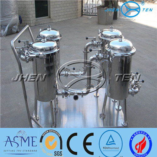 High Precision Duplex Vertical Basket Type Filter