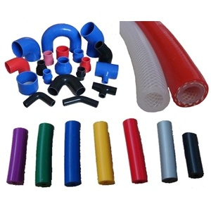 Wire Reinforced Silicone Hose with Steel Rings / Wire Reinforced Tubing