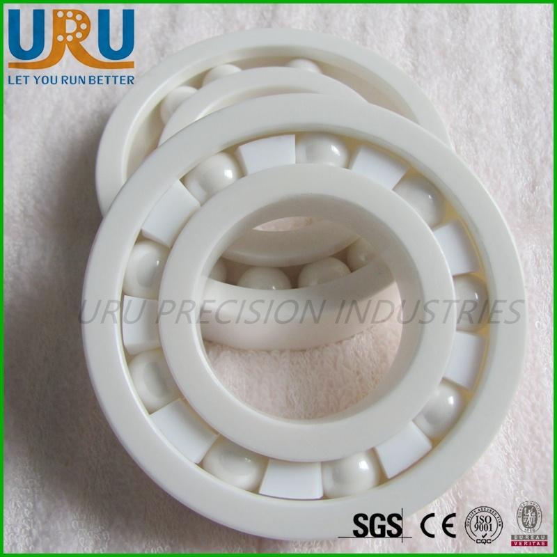 Full Ceramic Ball Bearing & Sealed Hybrid Bearing 608 Zro2 Si3n4